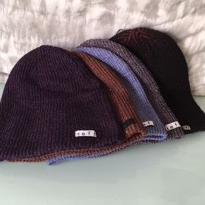 Neff beanie lot preowned 5 for the price of 1!